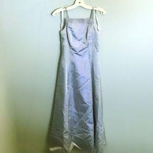 Algo Baby Blue Prom Dress - Size 4